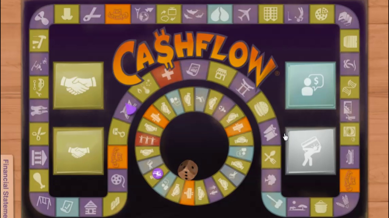 Rich Dad Poor Dad Robert Kiyosaki – How to play Cashflow 101 board game online