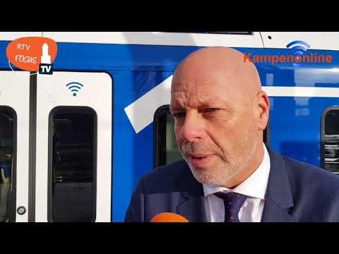 Splinternieuwe treinen van Keolis op spoortraject Zwolle – Kampen