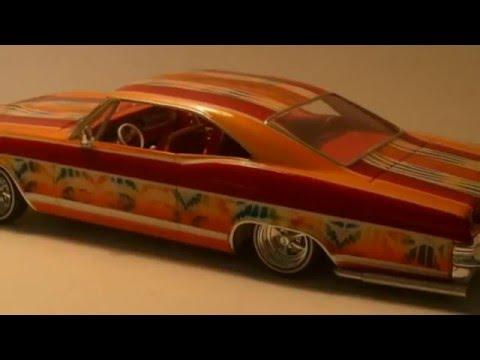Lowrider Model Cars Custom Paint 60 S 70 S Style 2 Gary
