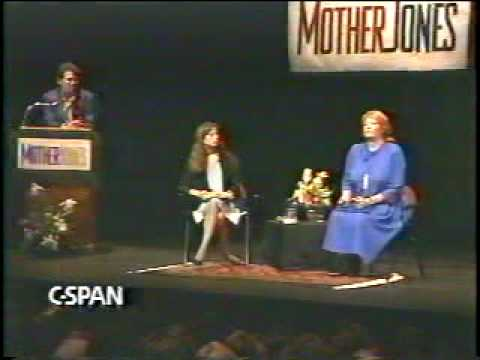 Molly Ivins, on Bill Clinton, women's issues, & more; 6 of 6 from 1992 Mother Jones fundraiser