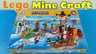 Đồ Chơi Lego Minecraft - Ngôi Làng Kho Báu Ven Biển Và Bọn Hải Tặc