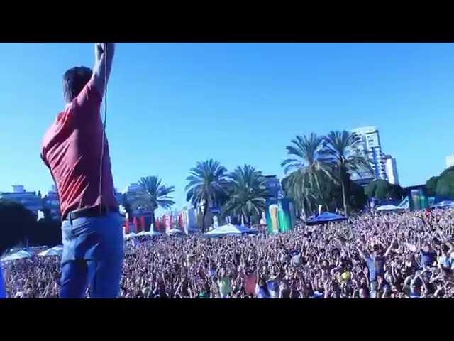 TOMER MAIZNER LIVE @ TEL AVIV STREET RAVE 2014 PART2