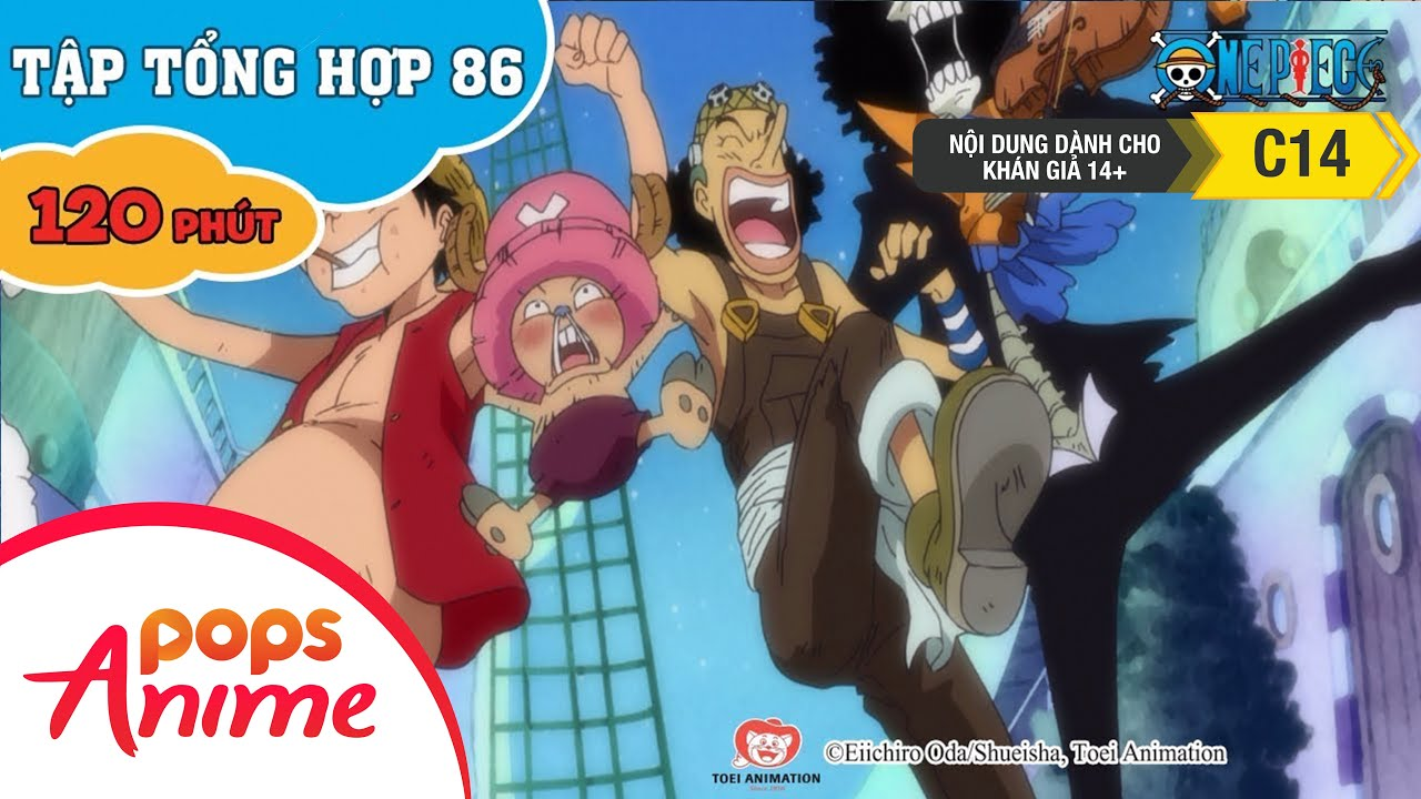 Đảo Hải Tặc Tập Tổng Hợp 86 - Luffy Và Băng Hải Tặc Mũ Rơm - Phim Hoạt Hình One Piece