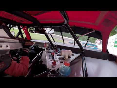 Madison International Speedway Big 8 6/28/19 Heat Race John Baumeister Jr.