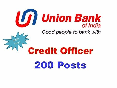 Union Bank Credit Officer Notification
