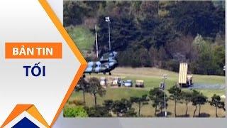 """Mỹ """"thách giá"""" Hàn Quốc 1 tỷ USD cho THAAD   VTC1"""