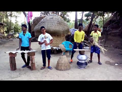 Santali Dj Comedy dance || Dj Mocha alom gosoya || New Santali Song Video Dance