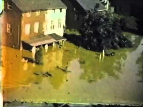 1950's Bethlehem, PA Post-Hurricane Flood (Lehigh River) Part 2