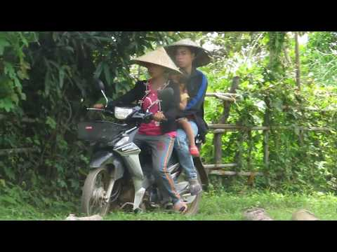 Transport on Don Som - southern Laos