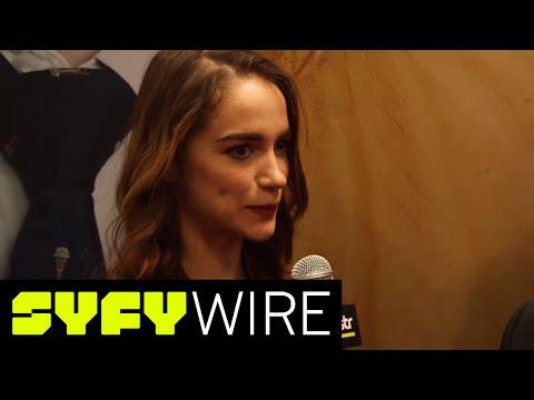 Wynonna Earp Herself On #wayhaught | New York Comic-Con 2016 | SYFY WIRE