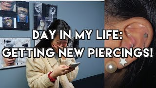 VLOGMAS: conch and rook piercing experience!