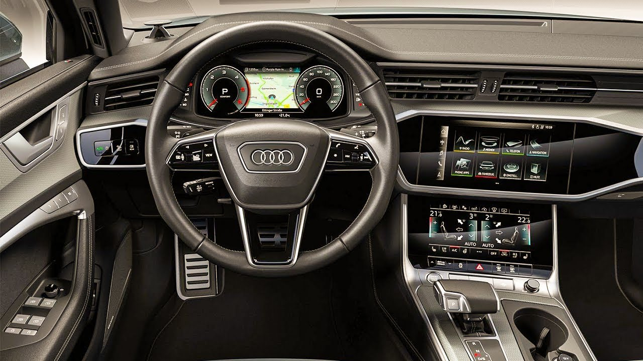 The Best Review 2020 Audi S6 Interior And Images And Description Di 2020