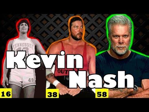 КЕВИН НЕШ ПОЛОВОЙ ГИГАНТ WWE как менялся от 18 до 58 лет