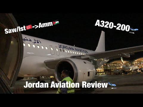 Comprehensive Review | Jordan Aviation(Economy) |Airbus A320-200|Sabiha/Istanbul-Amman|12 Hour Delay