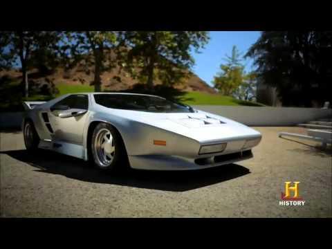 VECTOR W8 On Top Gear America 2013