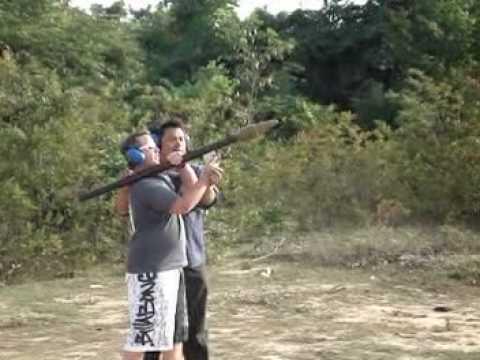 SHOOTING ROCKET LAUNCHER - SHOOTING BAZOOKA | CAMBODIA