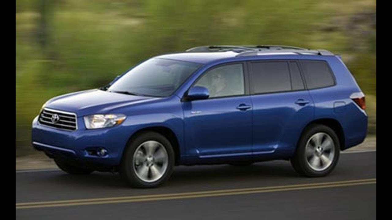 2008 Toyota Highlander Drive Line Review Car And Driver