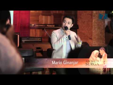MARIO GINANJAR Launching Ost AIR MATA SURGA