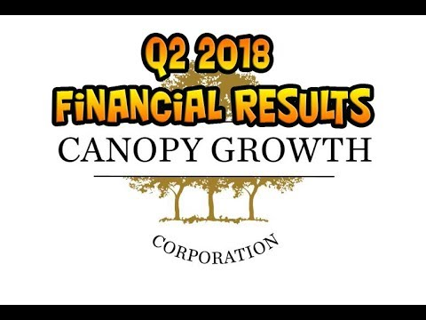 Very Brief Look At Canopy Growth's Q2 Fiscal 2018 Financials