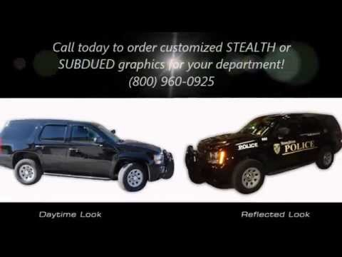 Stealth Police Graphics - by Municipal Graphics