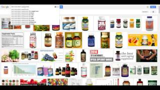 When you search best antioxidant supplements on Google search...