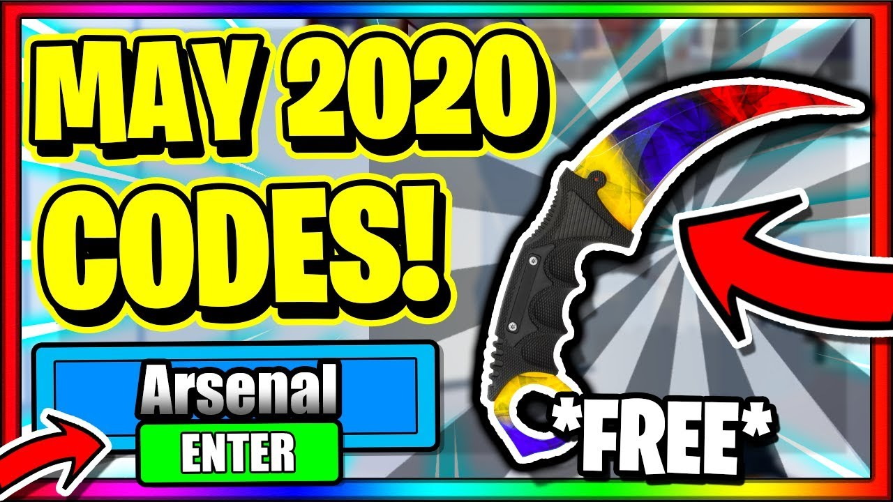 May 2020 All New Secret Op Working Codes Roblox Arsenal Youtube