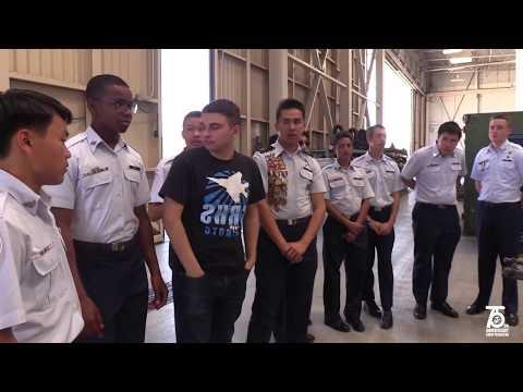 Scripps Ranch High School Air Force JROTC Visits Camp Pendleton