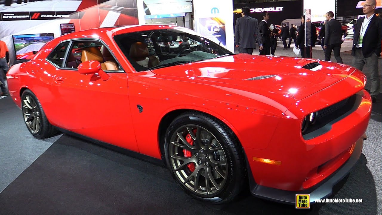 2015 Dodge Challenger Srt Hellcat Exterior And Interior Walkaround