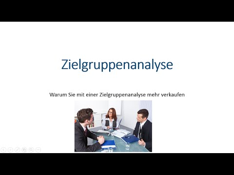 Zielgruppenanalyse - Warum Zielgruppen analysieren und Zielgruppe definieren mehr Umsatz bringtиз YouTube · Длительность: 3 мин20 с