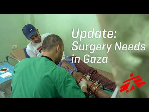 In Gaza, Needs For Reconstructive Surgery Are Overwhelming