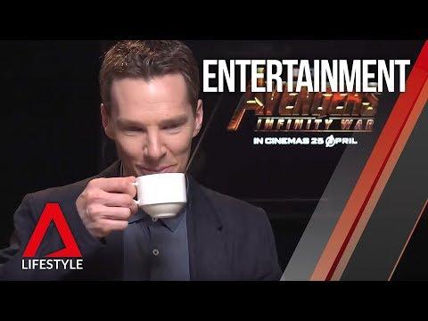 Doctor Strange Benedict Cumberbatch explores Singapore