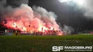 SV Babelsberg 03 Gegen 1 FC Magdeburg Silvesterliche Eindrücke Www Sportfotos Md De