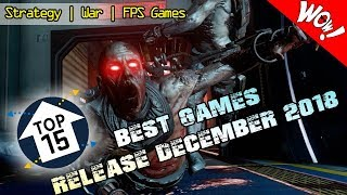 BEST TOP 15 NEW GAMES RELEASE 13 DECEMBER 2018 PS4 | Xbox One | Switch | PC