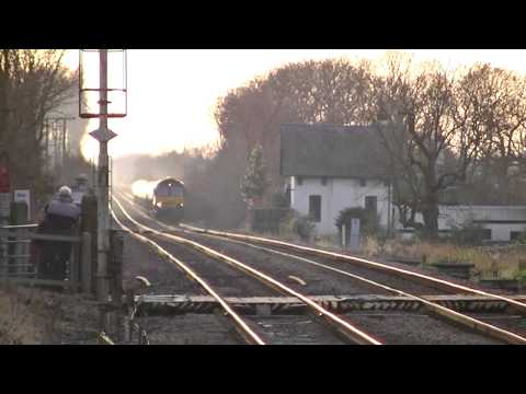 Lincoln Christmas Market Charters, Extras & Freight at Swinderby - 8th December 2012.