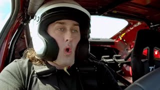 Ross Noble's Kahn Defender and GT86 Lap Time   Top Gear