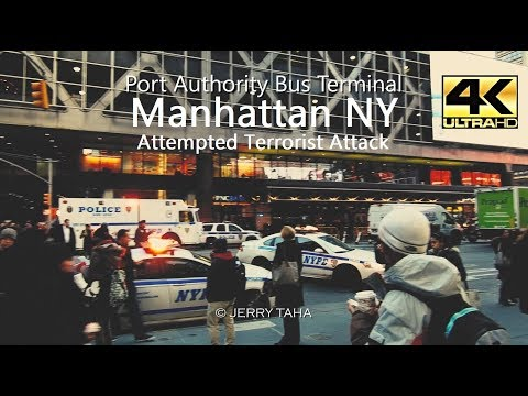 The Aftermath of the NYC Attempted Terror Attack @ Port Authority, Manhattan 12/11/2017 | 4K