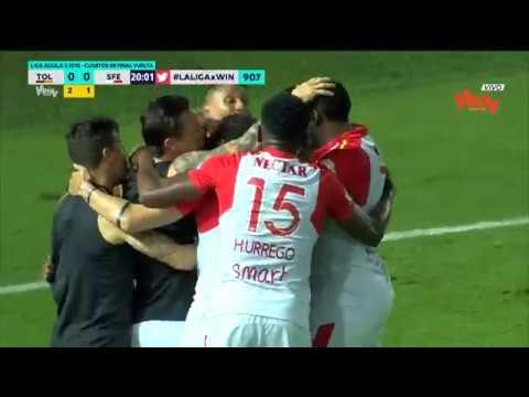 Tolima vs Santa Fe (0-1) Liga Aguila 2018-II | Cuartos de final vuelta