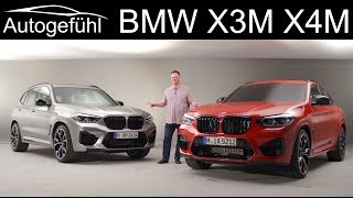 BMW X3M and X4M Competition REVIEW Exterior Interior Sound - Autogefühl