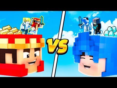 KSINICZKI vs KRLOWIE ZOTA! - DZIEWCZYNY vs CHOPAKI - HEAD WARS MINECRAFT