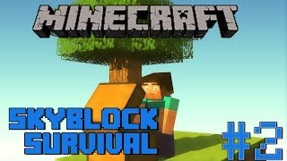 Minecraft: Skyblock Survival - Ep. 2 - The Creeper