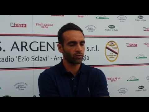 Serie D. Argentina-Sanremese 1-1 Intervista post partita Mister Ascoli (Argentina)