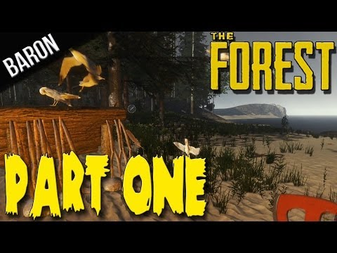 The Forest Gameplay Survival Part 1 - The Beach, First Contact!