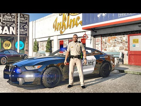 GTA 5 MODS LSPDFR 794 - HIGHWAY PATROL!!! (GTA 5 REAL LIFE PC MOD)