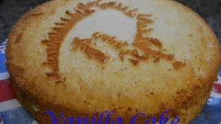 Vanilla Chiffon Cake (Filipino Version)