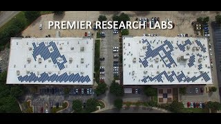Premier Research Labs - A NATiVE Solar Powered Facility in Austin, Texas