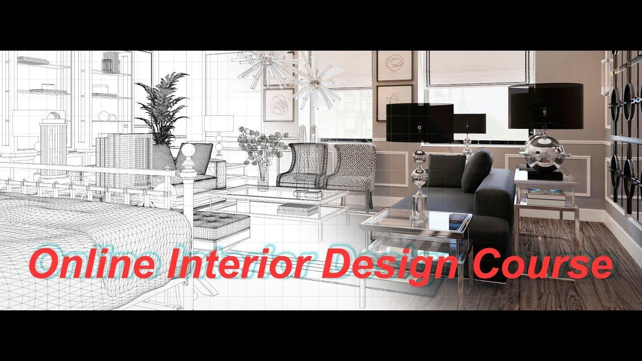 Online Interior Design Course Courses Diploma Scope Youtube