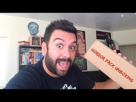 Horror Pack Unboxing (October 2018)