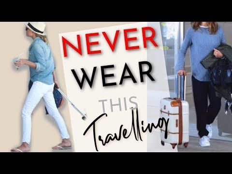 6 Things an Elegant woman WON'T travel in