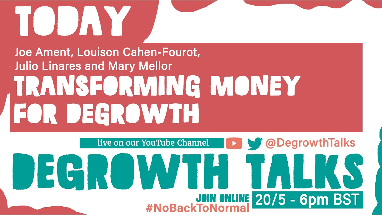 Transforming money for degrowth