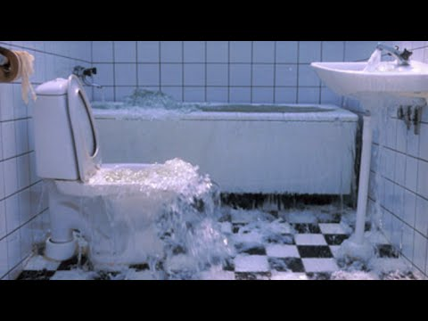 Image result for flooded bathroom